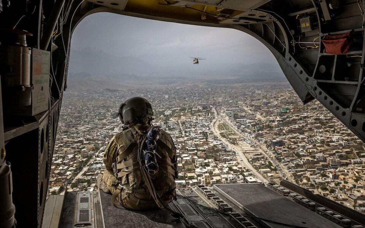 نیویورکتایمز: آمادگی آمریکا برای حملات هوایی در پشتیبانی از نیروهای امنیتی افغان