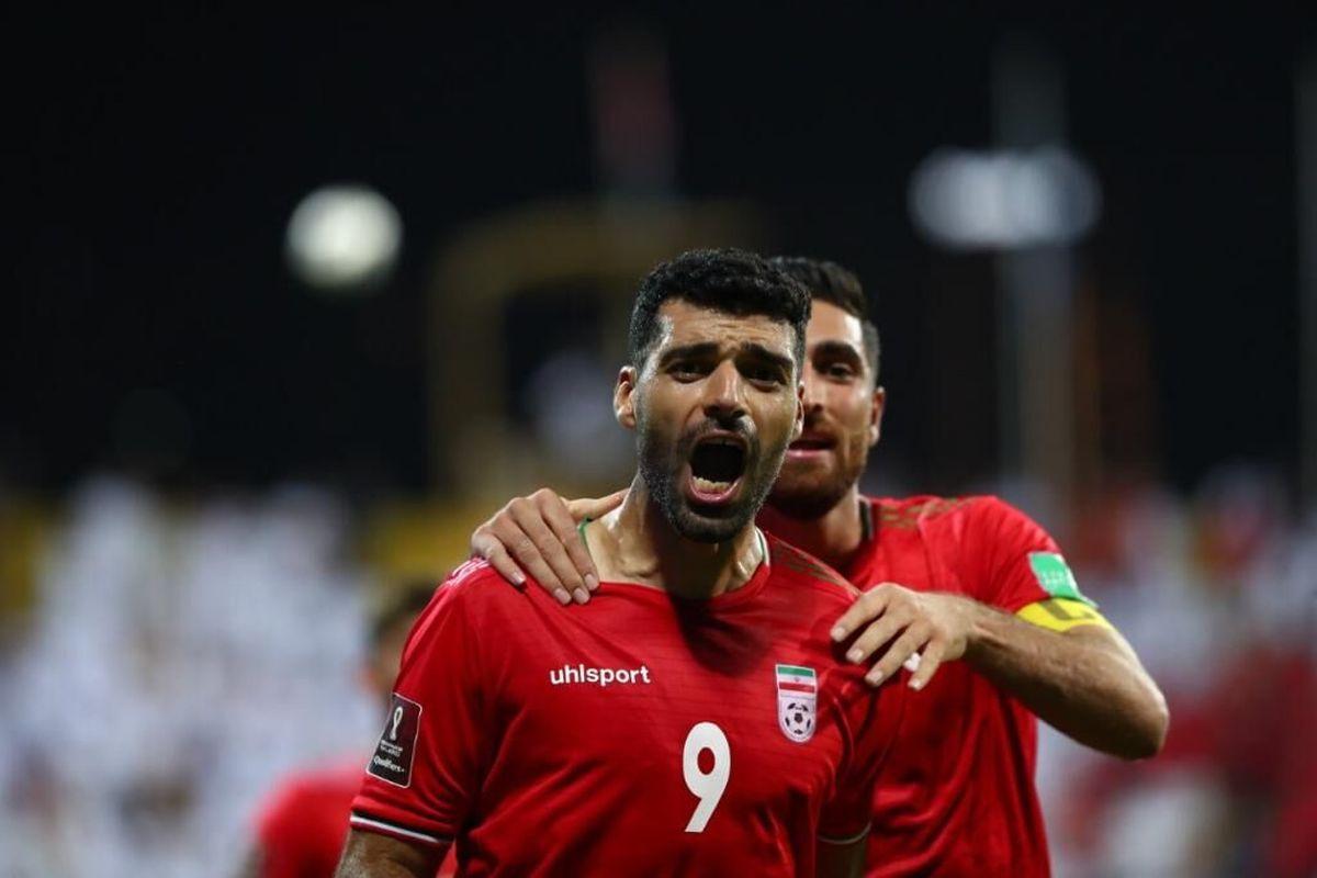 بهترین بازیکن زمین در پایان دیدار امارات و ایران انتخاب  شد