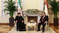 رییسی: تقویت تعاملات، سطح همکاریهای تهران- دوشنبه را ارتقا می