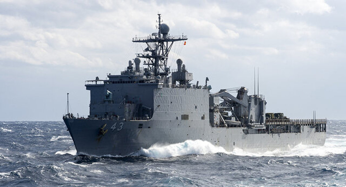 ورود ناوگان دریایی آمریکا به مدیترانه