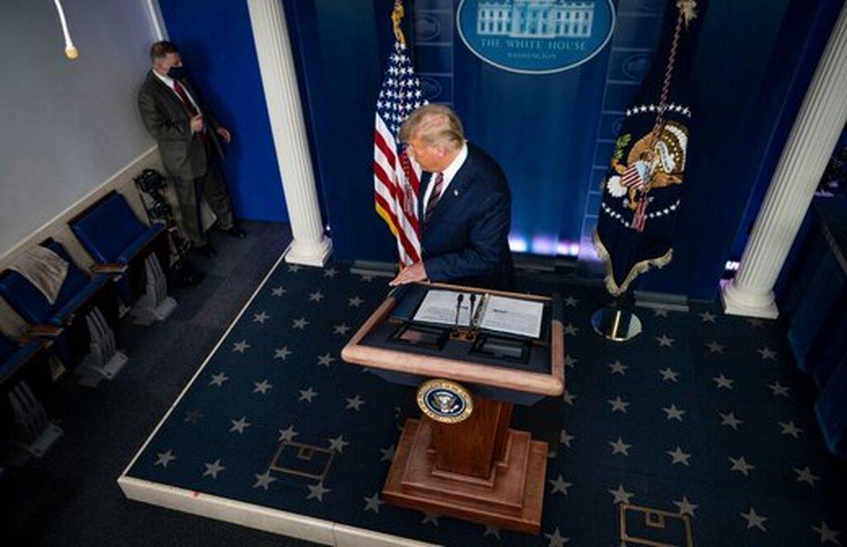 ترامپ پنجمین رییس جمهوری یک دوره ای ۱۰۰ سال اخیر آمریکا