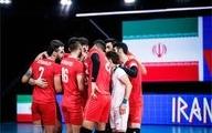 تیم ملی والیبال ایران  شکست خورد