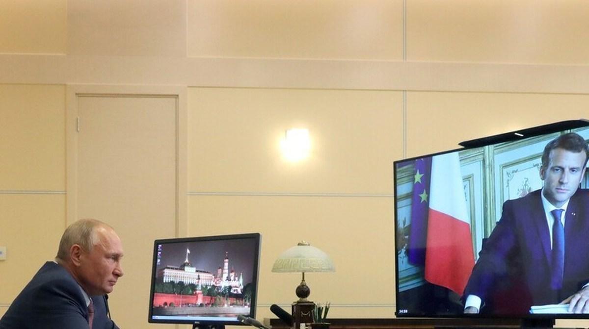 درخواست پوتین و مکرون برای آتشبس فوری در «قرهباغ»