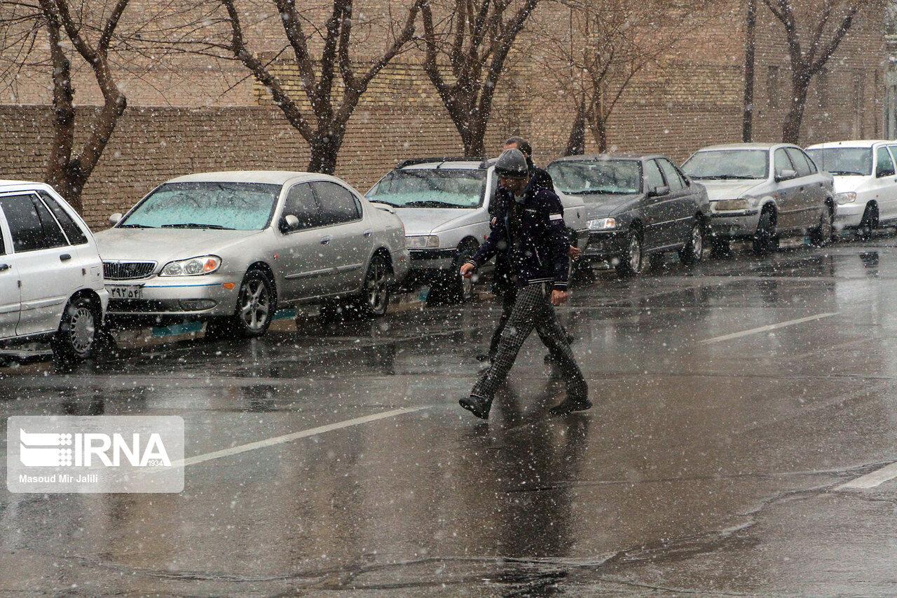 میزان بارش در سه ماهه منتهی به دی ناچیز است