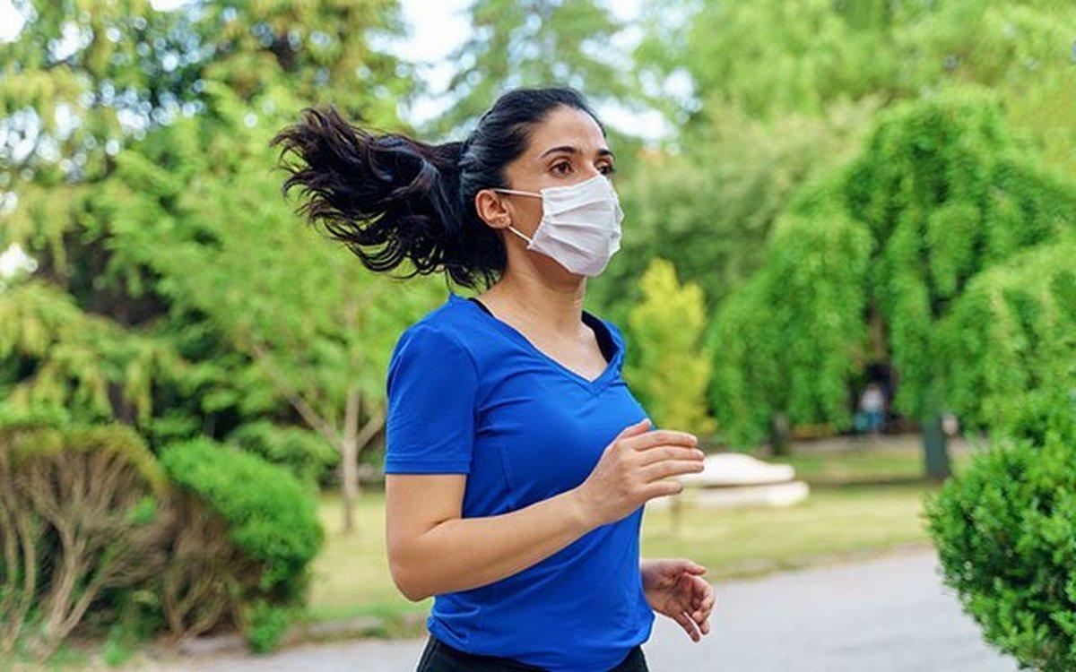 استفاده از ماسک، تاثیری بر عملکرد ریه و قلب ندارد