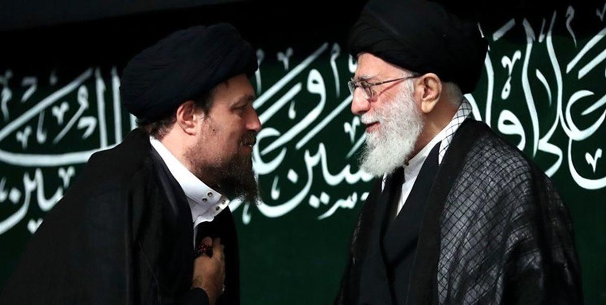 دردیدار سیدحسن خمینی با رهبر معظم انقلاب چه گذشت ؟