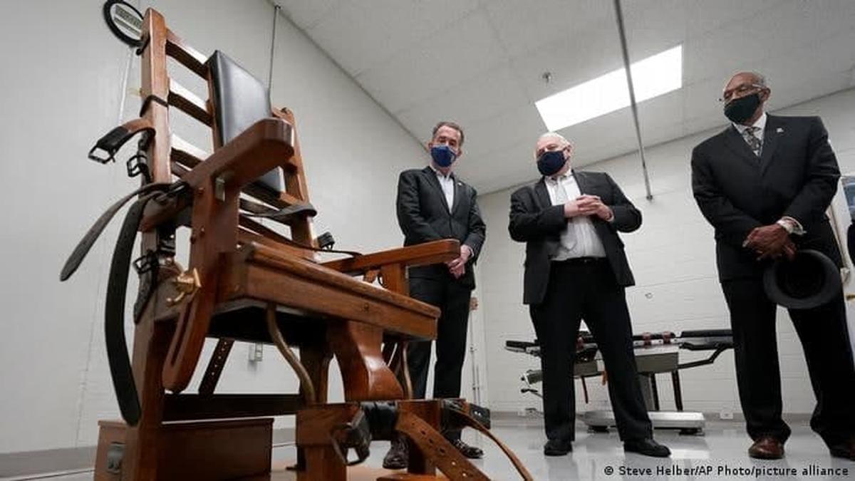 لغو مجازات اعدام در سی و دومین ایالت آمریکا