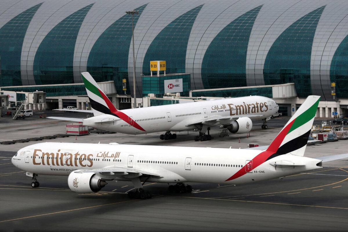 درآمد دوبی باترافیک هوایی ۷۰ درصدکاهش یافت