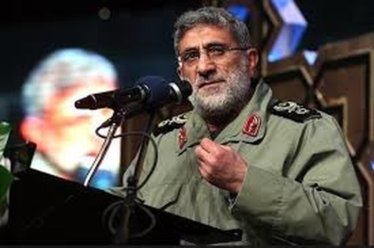 فرمانده نیروی قدس سپاه: هرگز فلسطین را تنها نخواهیم گذاشت
