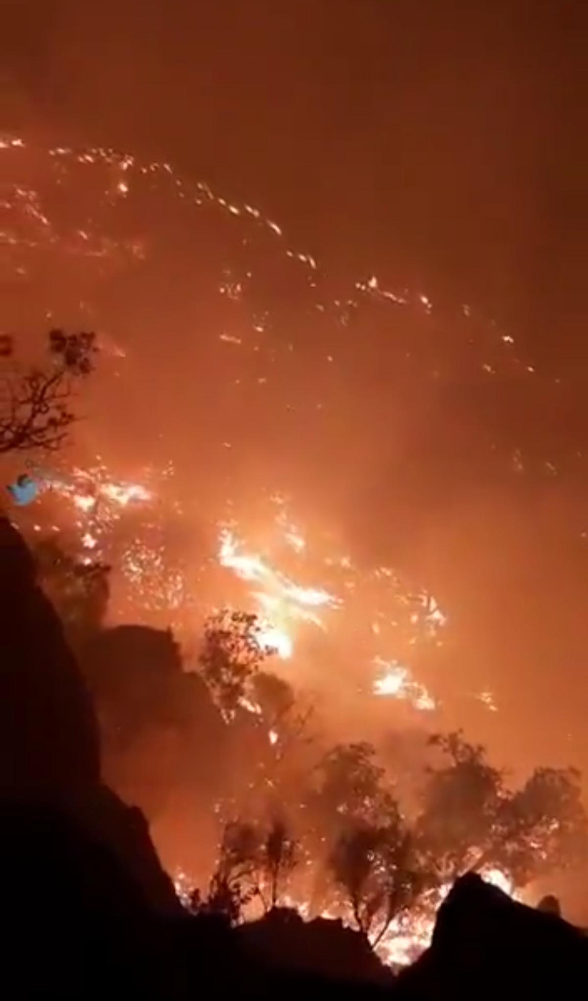 آتشسوزی در ارتفاعات گچساران