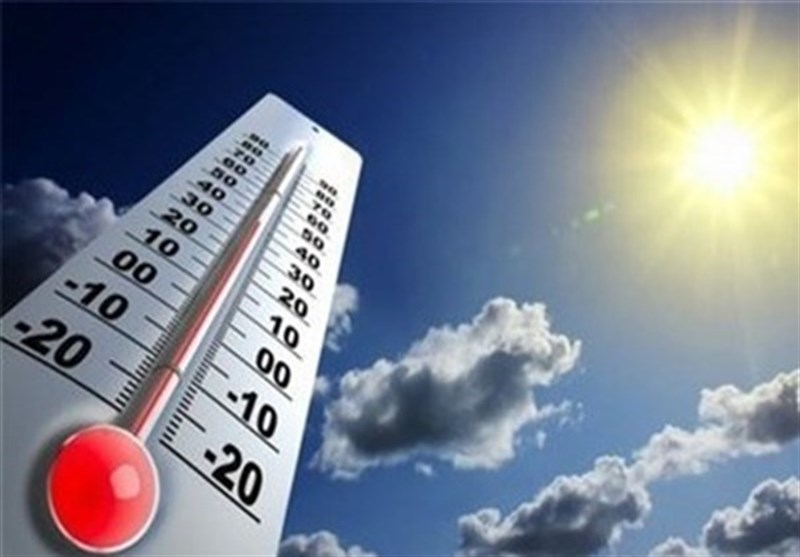 دما تا ۹ درجه  در برخی مناطق کاهش می یابد