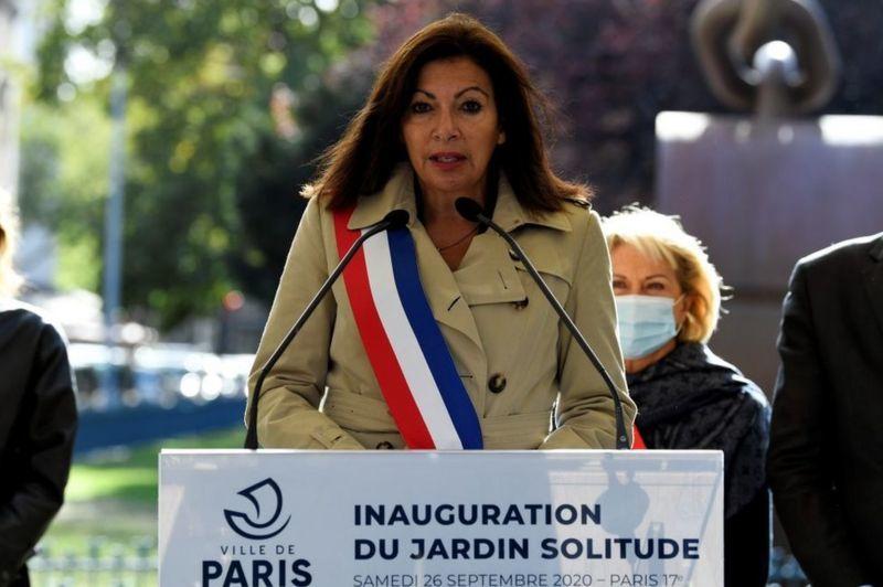 نصب مجسمه زن شورشی مخالف بردهداری در پاریس