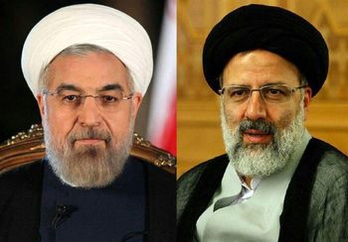 تصویری از حضور روحانی در دفتر رئیسی