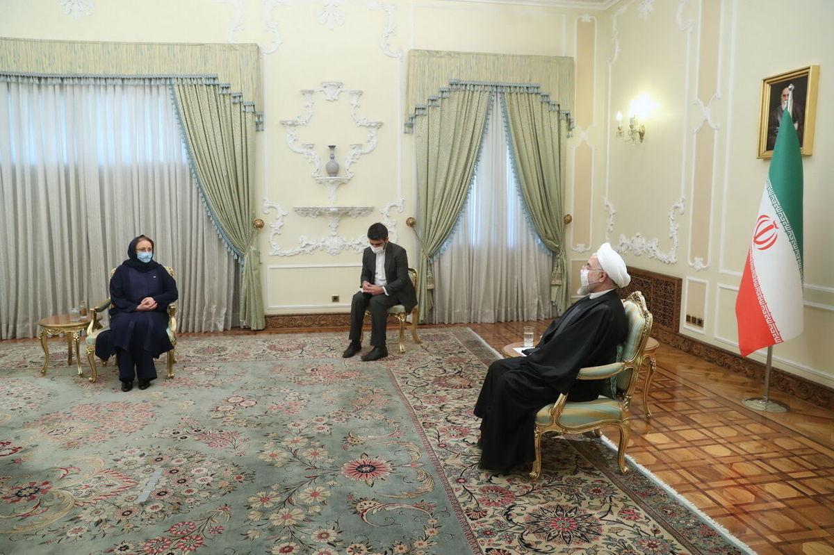 روحانی:ایران آماده تبادل تجربیات با کشورها در مقابله با کرونا است