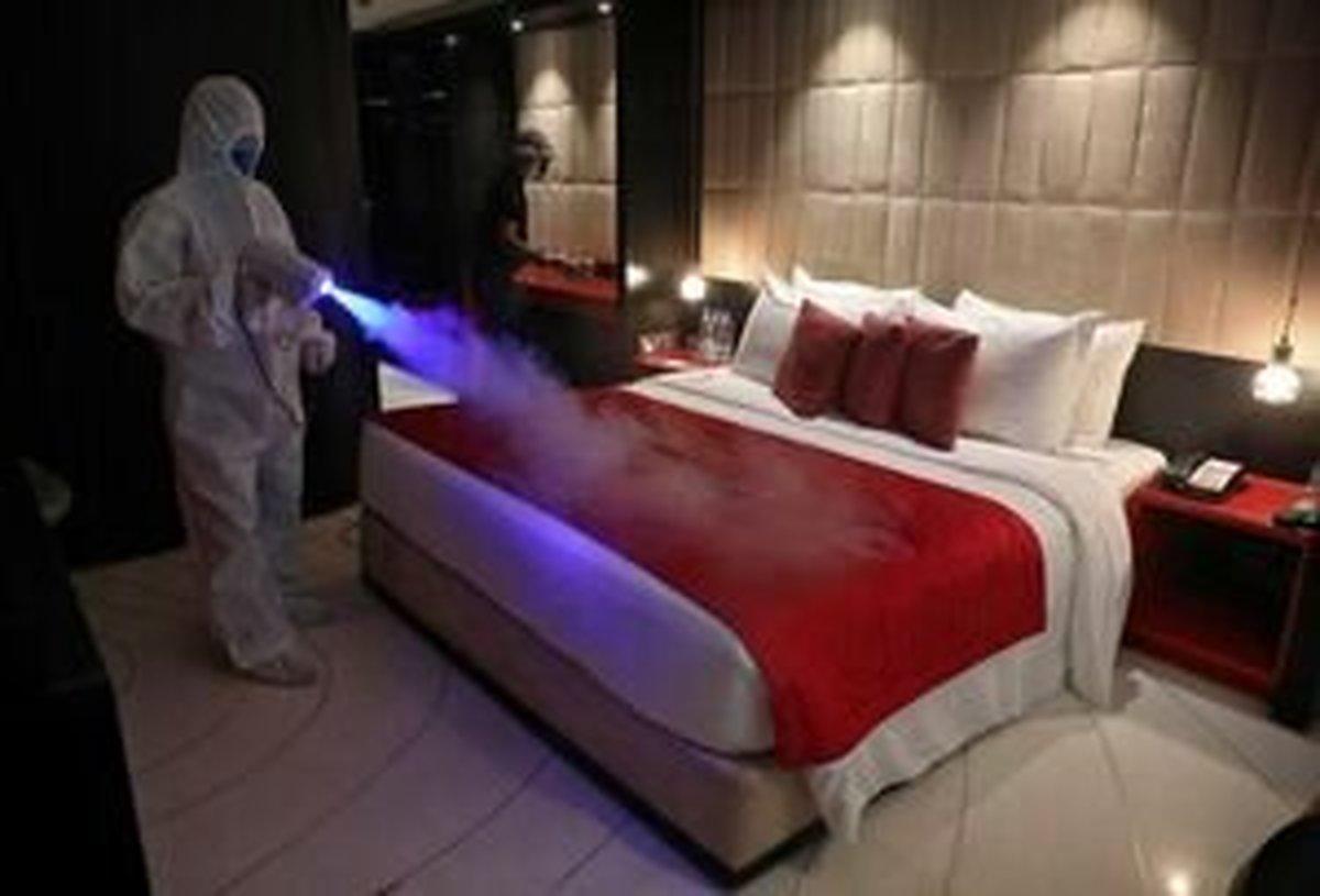 مسافران در هتل فرودگاهی قرنطینه میشوند | آمادگی برای نقاهتگاه کرونا
