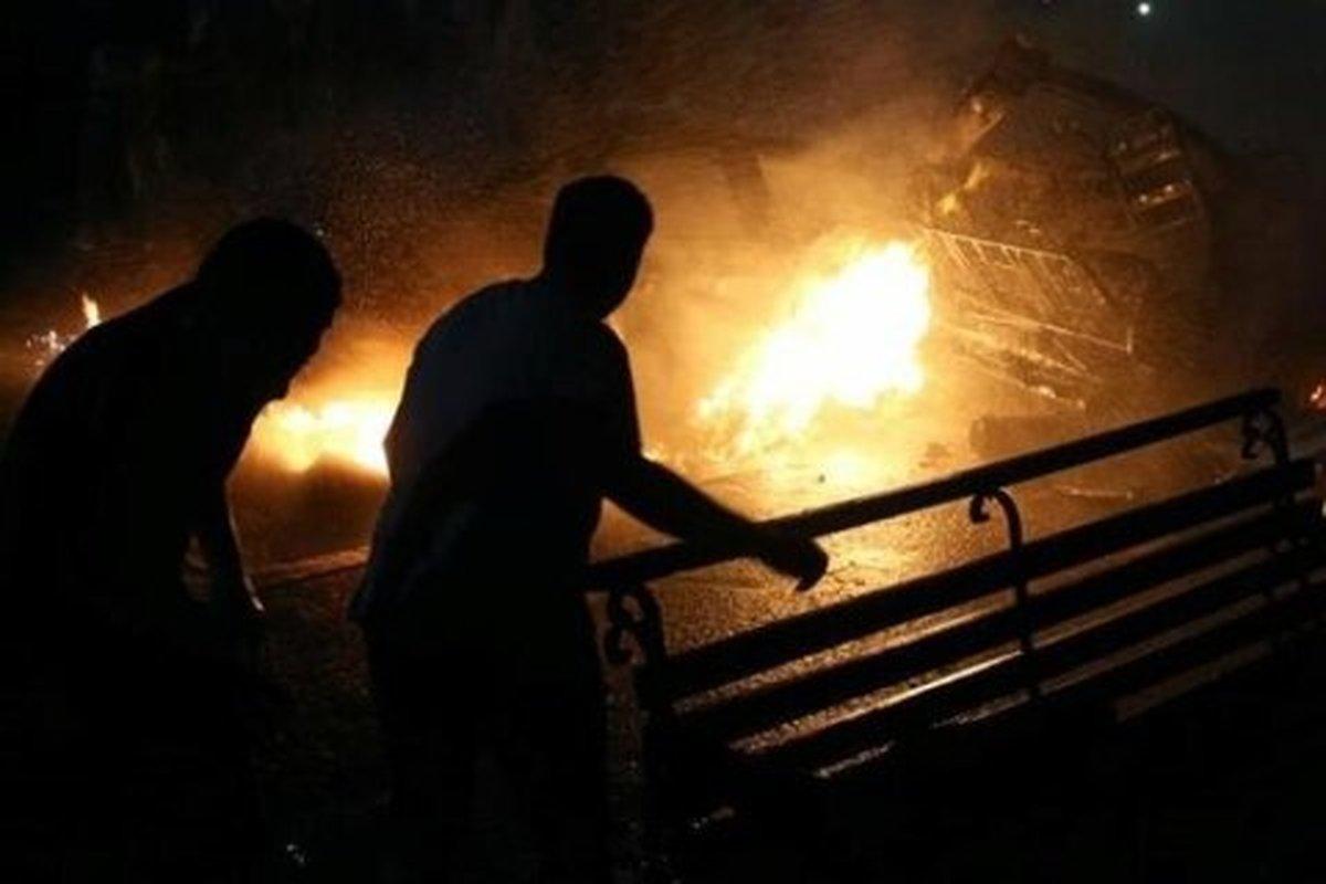 مصدومیت 9 نفر در پی انفجار در شرکت صنایع پتروشیمی