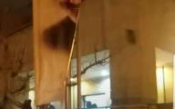 تجمع دانشجویی که به شعارهای تند و پاره کردن عکس حاج قاسم کشید