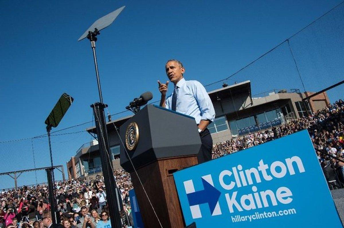 اوباما خطاب به آمریکاییها: برای هیلاری کاری کنید که برای من کردید