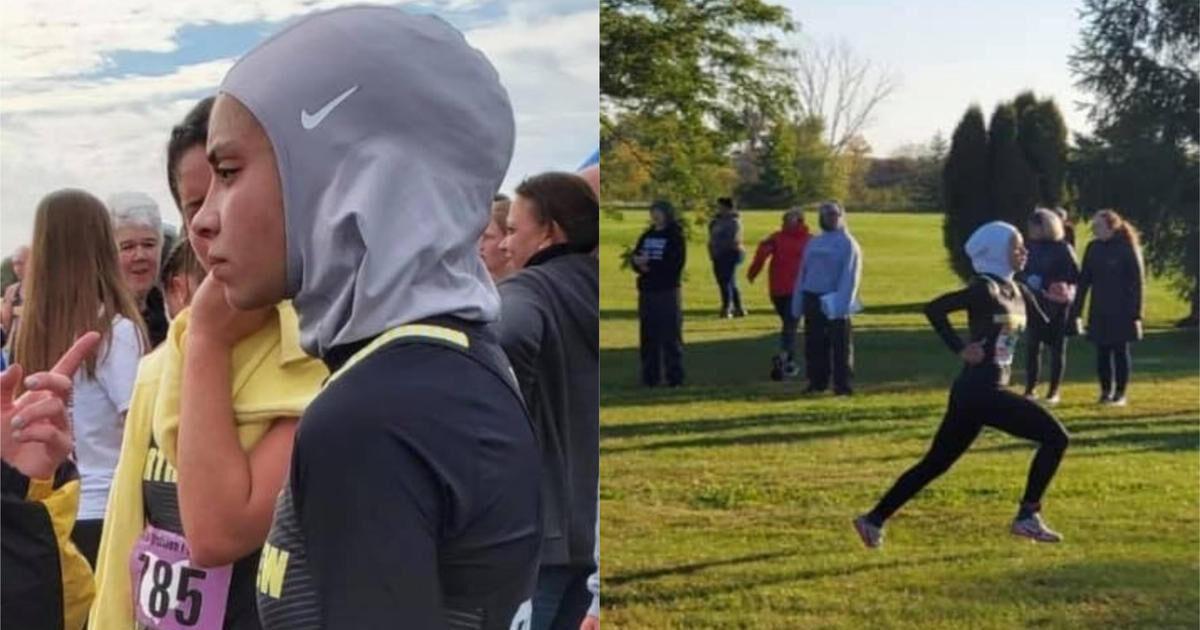 حذف نام دونده دبیرستانی از جدول برندهها به دلیل داشتن «حجاب»