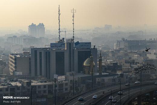 بازگشت آلودگی به هوای تهران
