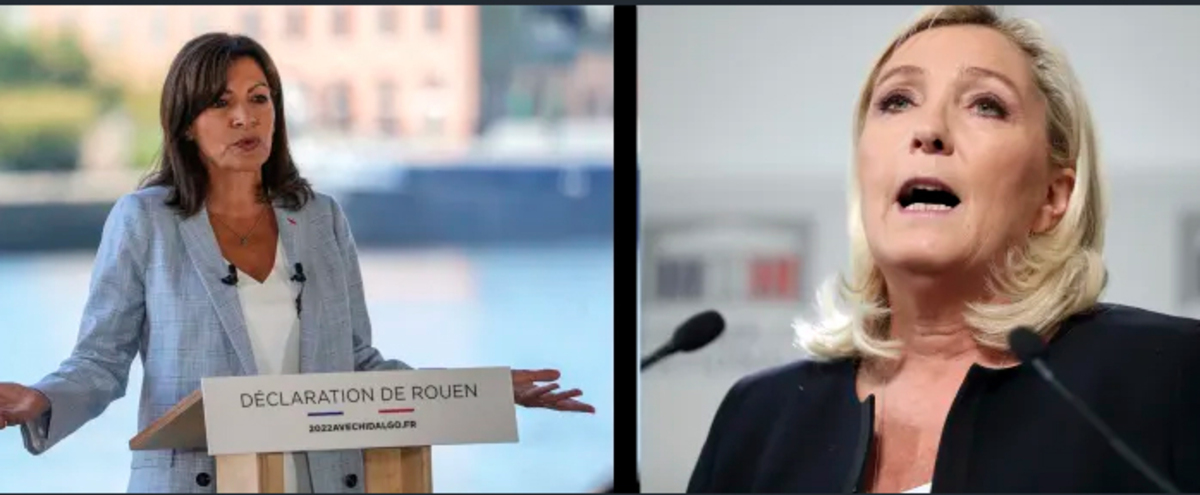 رقابت دو زن برای جانشینی ماکرون +عکس