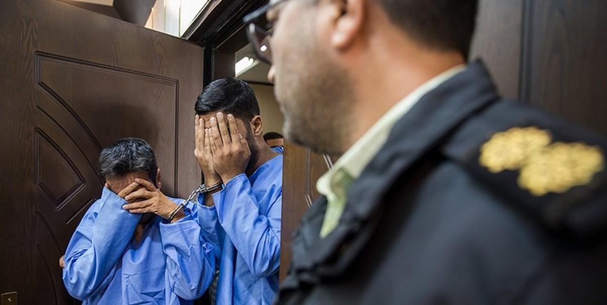 سارق مسلح هنگام زورگیری دستگیر شد