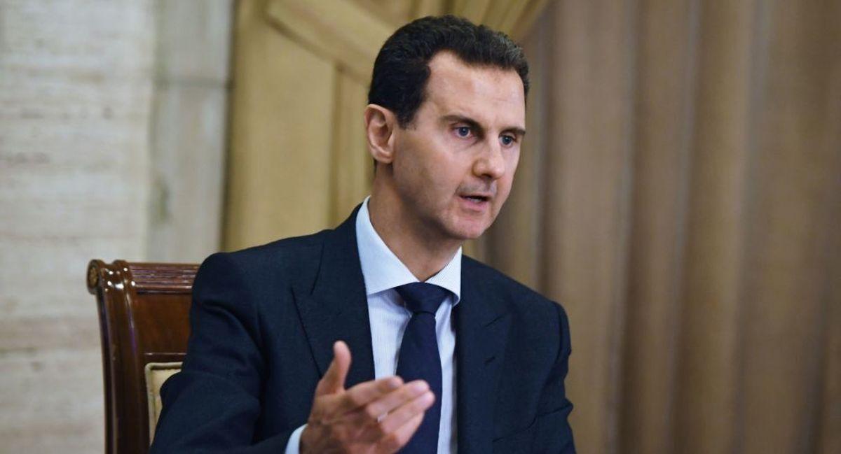 واکنش بشار اسد به اخبارمربوط به ترور خود  |   «ترور شیوه کاری آمریکاست»