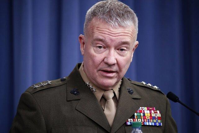 فرمانده آمریکایی |   رشد تهدید داعش در غرب سوریه