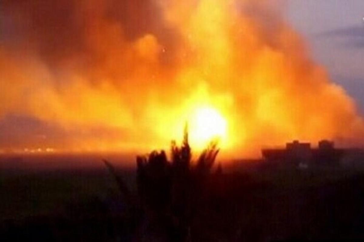 انفجار  مرگباردر منطقه نفتی «چشمه خوش» دهلران