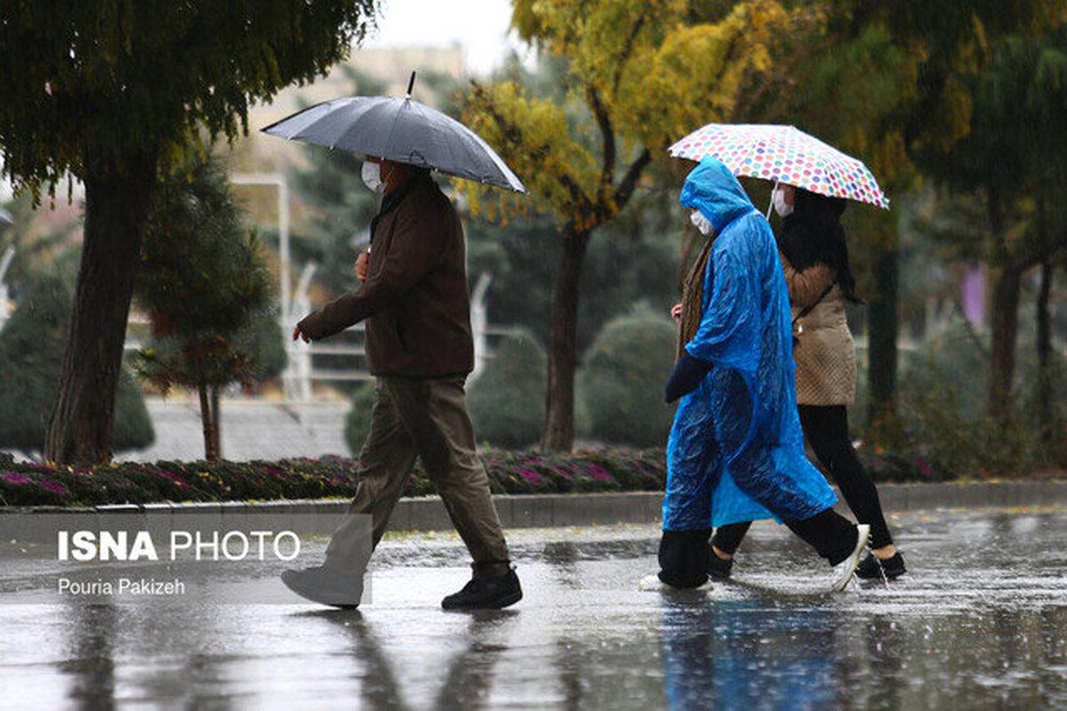 وزش باد شدید و بارش باران در مناطقی از کشور طی سه روز آینده