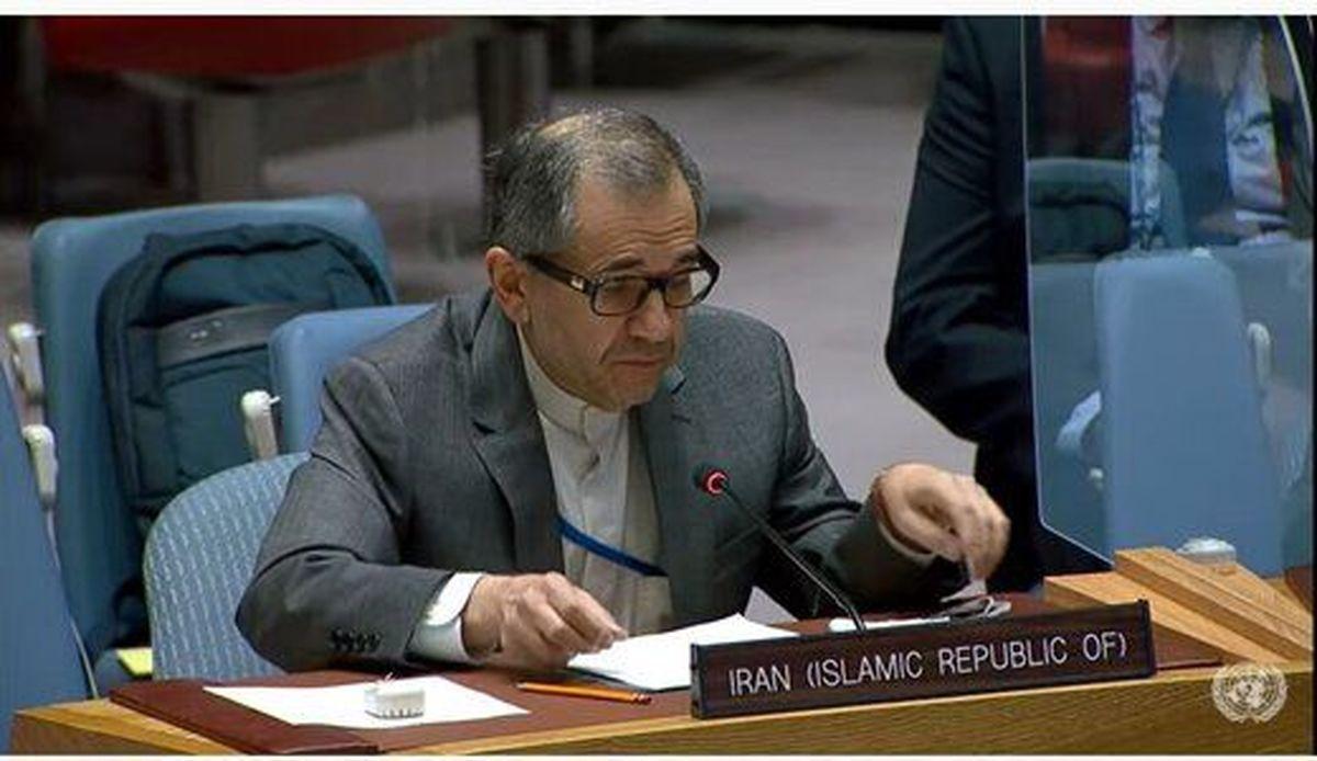 نامه مهم تختروانچی به شورای امنیت درباره اتهامات آمریکا