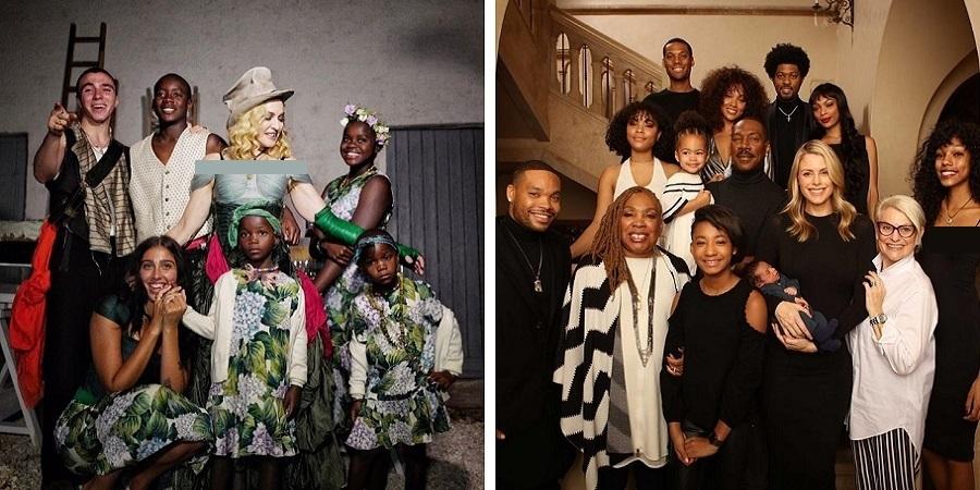 بازیگران مشهور هالیوودی که فرزندان زیادی دارند+عکس