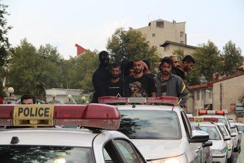 عاملان شرارت و درگیری بیمارستان پورسینا رشت دورگردانی شدند
