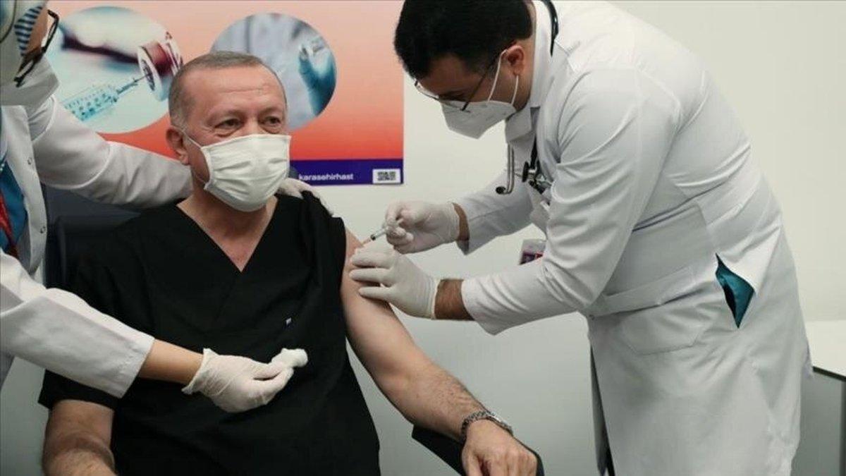 اردوغان واکسن زد  |  آغاز واکسیناسیون کرونا در ترکیه