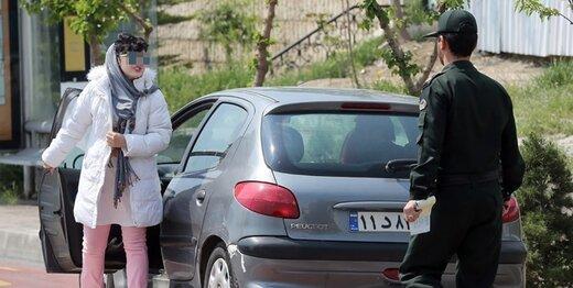 چرا پیامک اخطار بیحجابی به رانندگان ارسال میشود؟