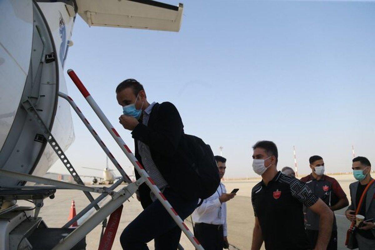 پرسپولیس به قطر سفر کرد