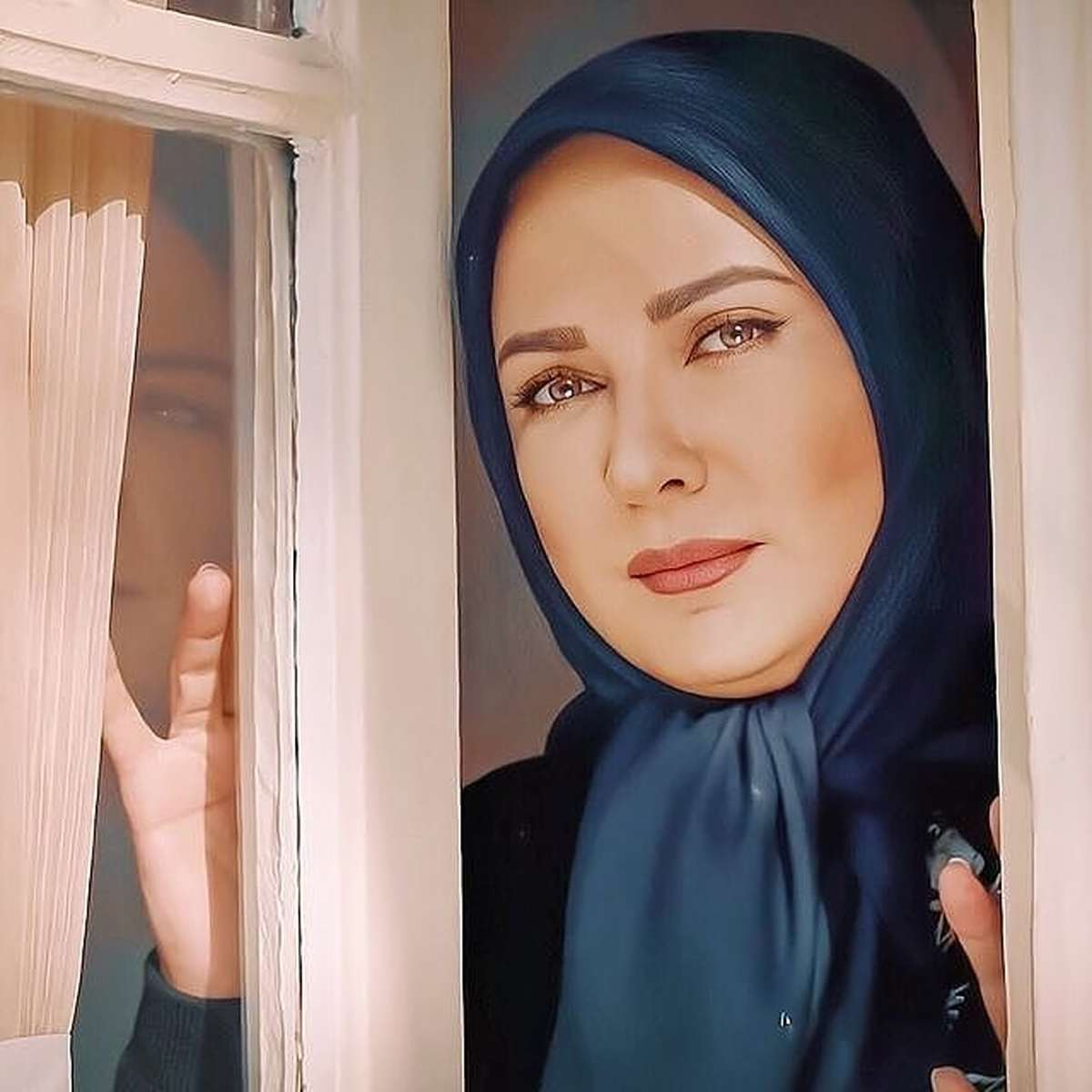 نخستین عکس منتشر شده از لعیا زنگنه و همسرش