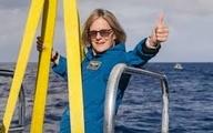 کتی سولیوان اولین زن در کتابهای تاریخ در عرصه دریا و فضا