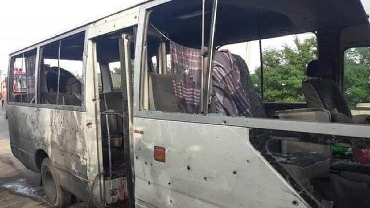 چهار کشته و ۱۳ زخمی در انفجار اتوبوس دانشگاهیان در شرق افغانستان