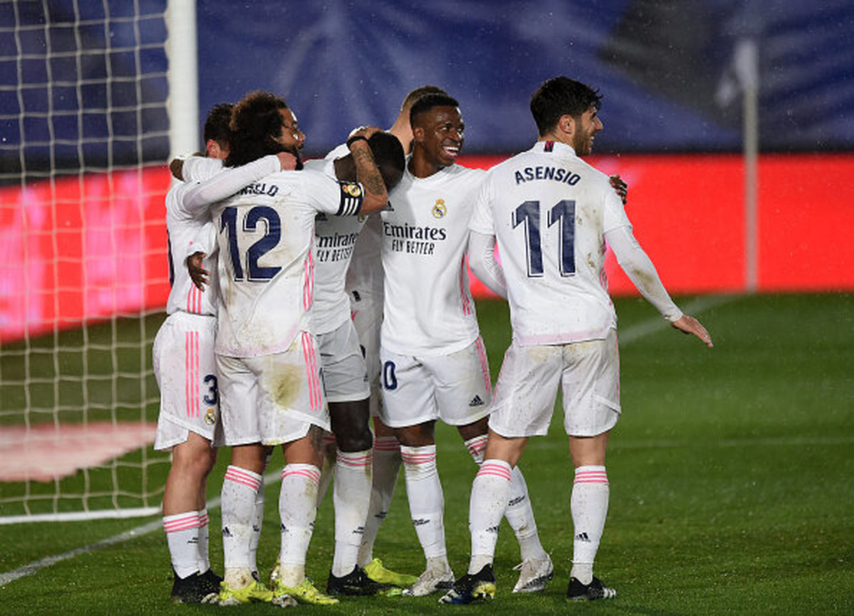 پیروزی رئال مادرید در لالیگا