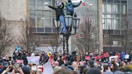 تصاویر معترضین روسی به بازداشت ناوالنی +عکس