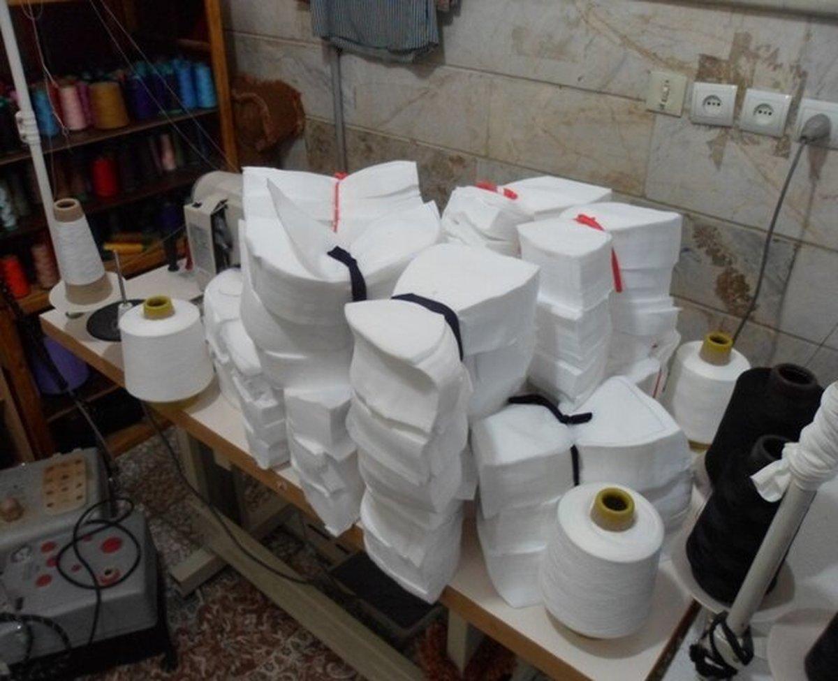 کشف ۲۰ هزار ماسک غیر بهداشتی در شمال تهران