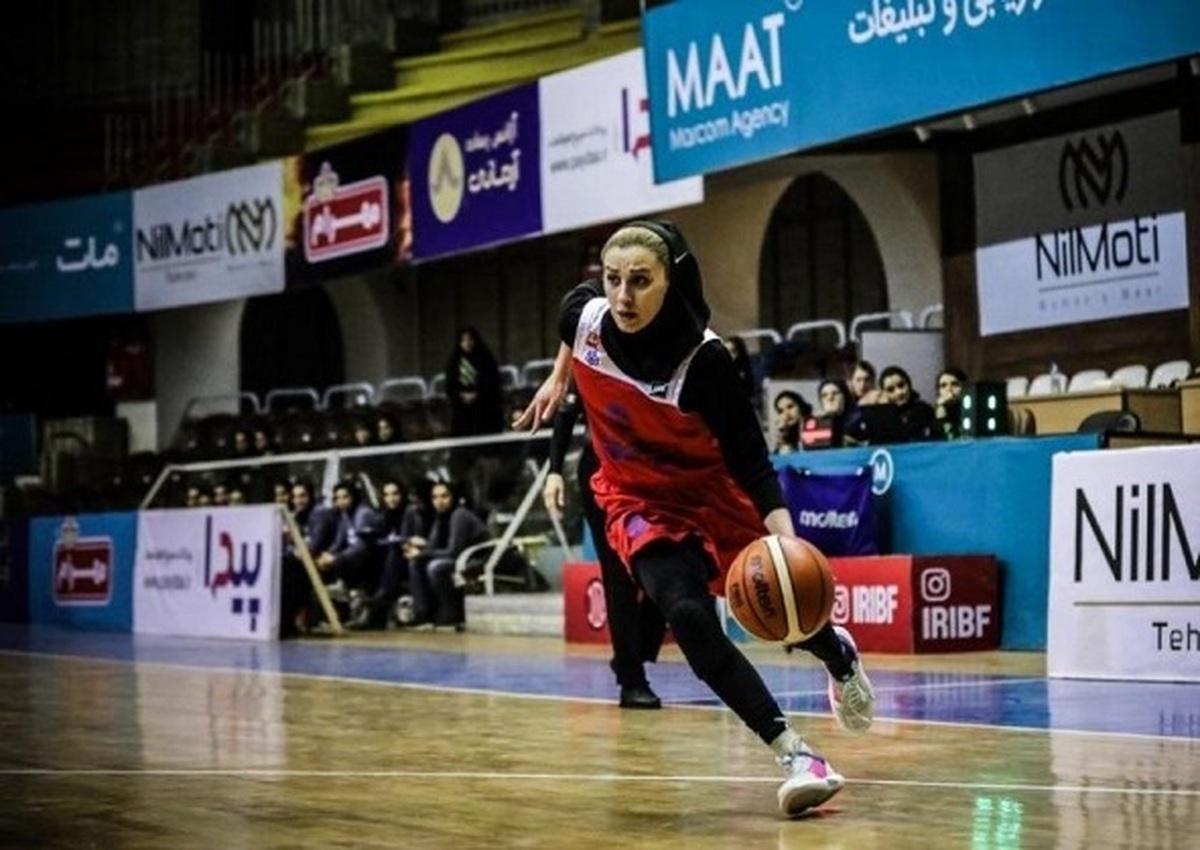 بازیکن زن  |  بسکتبال ایران از دنیای قهرمانی خداحافظی کرد
