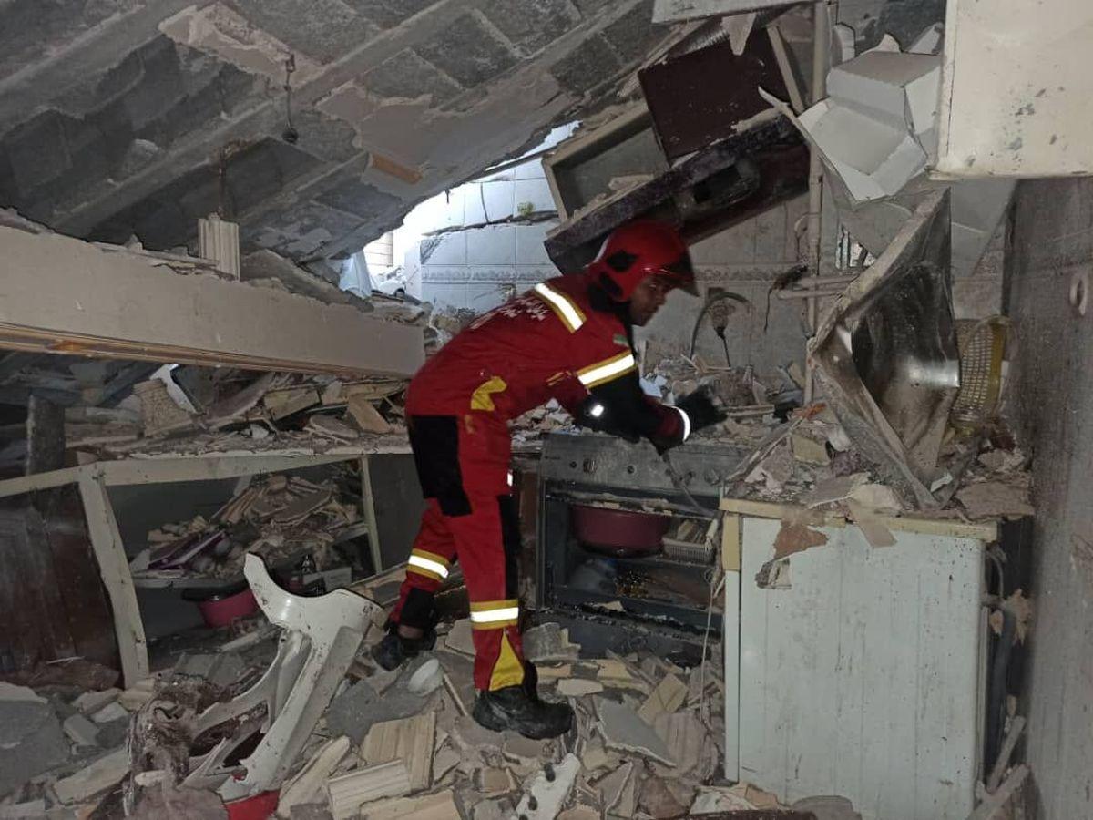 انفجار گاز در اهواز پنج مصدوم برجا گذاشت