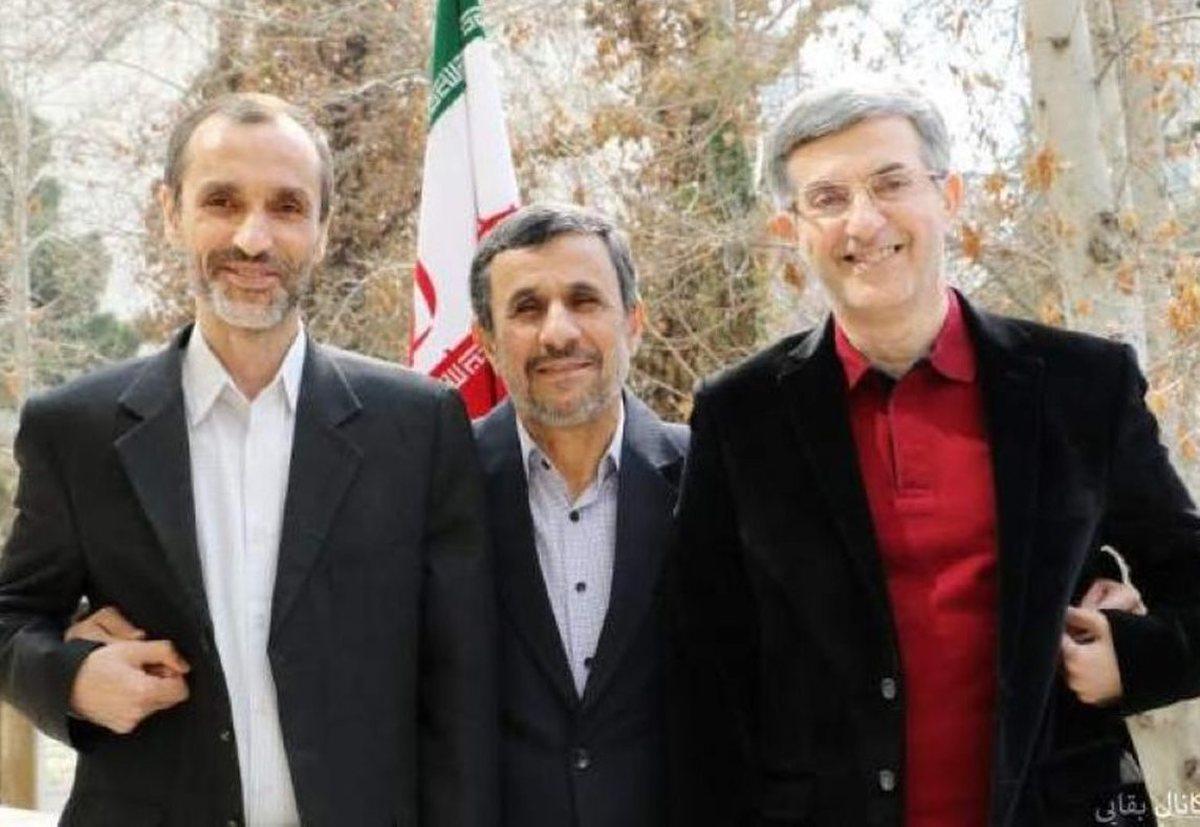 روایت حیرتانگیز احمدینژاد از وضعیت بقایی و مشایی  بقایی و مشایی کجا هستند؟