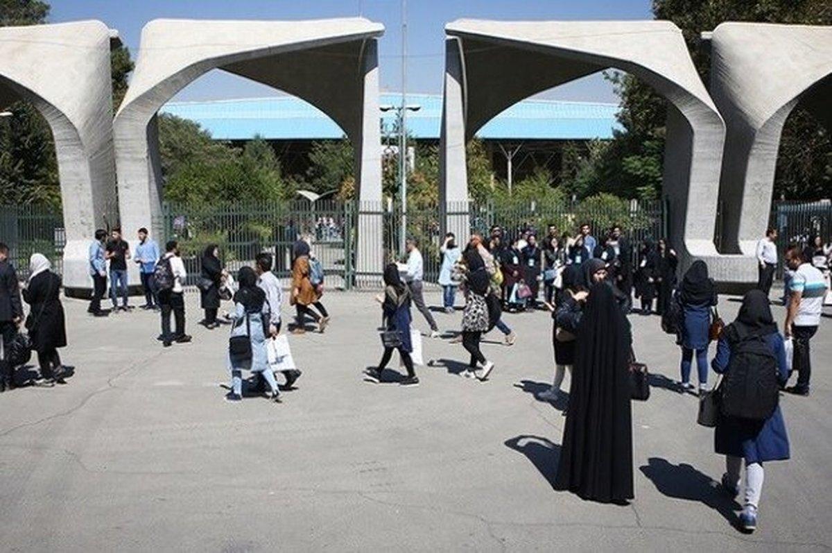 کرونا  |  ۲۰ درصد دانشجویان دانشگاه تهران به کرونا مبتلا شدند