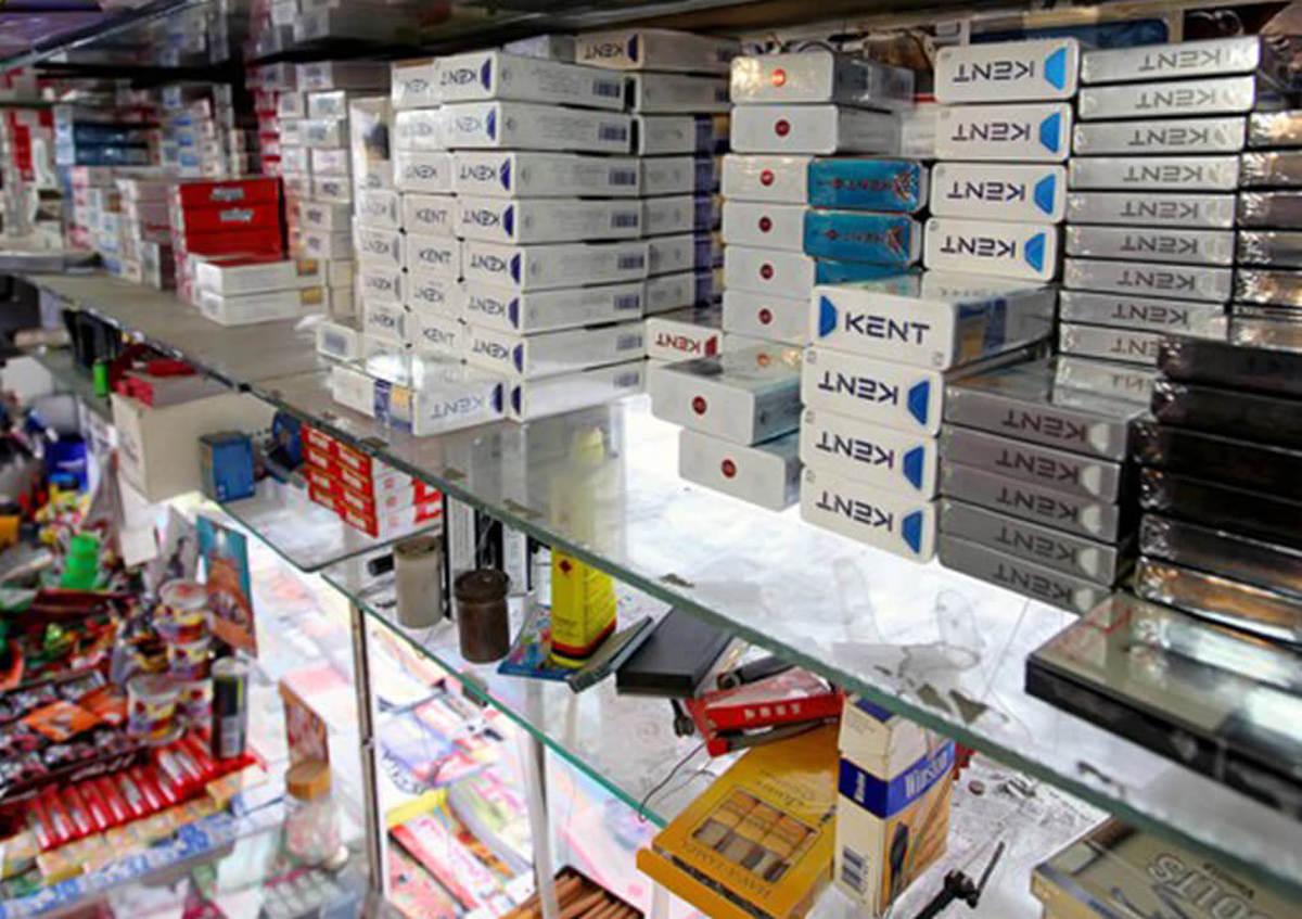 خرید و فروش سیگار ممنوع است