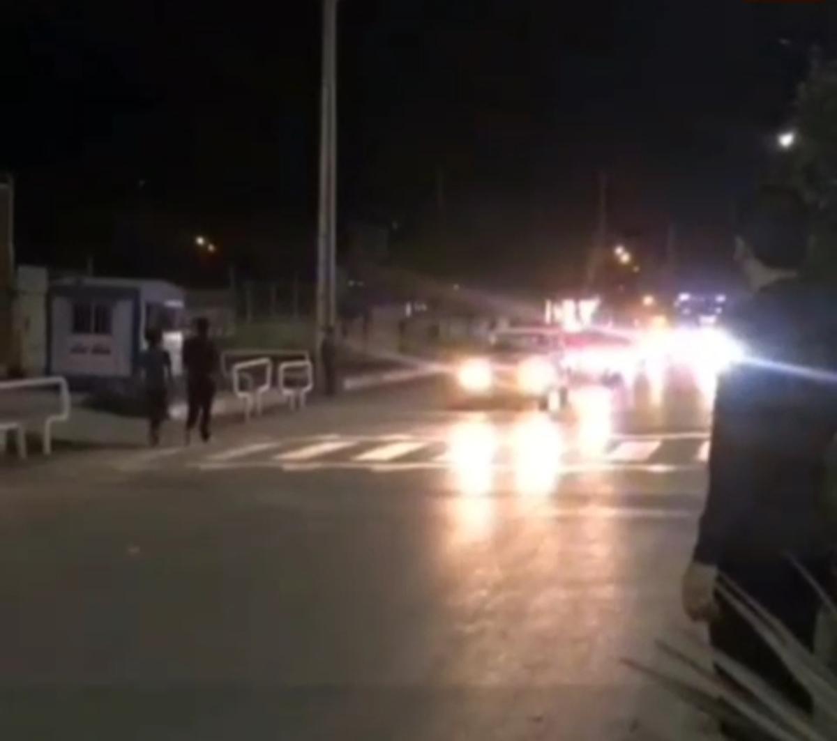 به صدا درآمدن آژیر خطر در خیابانهای شادگان + ویدئو