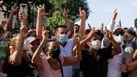 اعتراض به کمبود کالاهای اساسی   |  بیش از یکصد نفر از تظاهرکنندگان بازداشت شدند