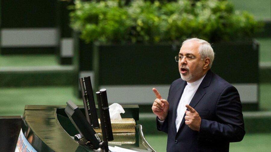 ظریف در مجلس: با پشتوانه مردم ایران ترامپ را در سیاست خارجی شکست دادیم